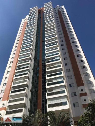 Imagem 1 de 30 de Apartamento Com 3 Dormitórios À Venda, 223 M² Por R$ 1.800.000,00 - Jardim Anália Franco - São Paulo/sp - Ap6329