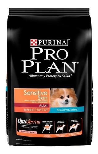 Imagen 1 de 1 de Alimento Pro Plan Optiderma Sensitive Skin Adult Para Perro Adulto De Raza Pequeña Sabor Salmón/arroz En Bolsa De 7.5kg