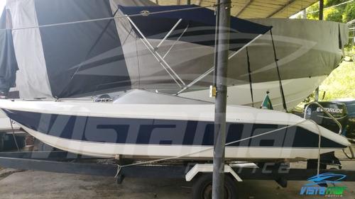 Imagem 1 de 11 de Lancha Miami Boats 16 Motor Evinrude 60hp