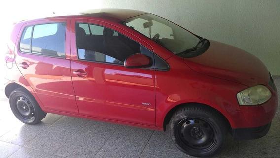 Volkswagen Fox 1.0 2008/2009 Vermelho