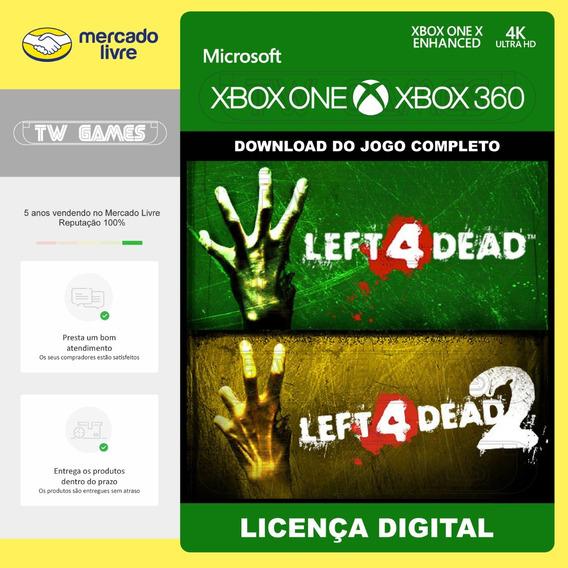 Left 4 Dead 1 E 2 Digital Retrocompativel Xbox One Xbox 360