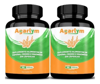 Emagrecedor 2 Agarlym Natural + Potente Q Ultra Power Max