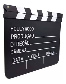 Claquete Cinema Grande P Filmagens E Decoracao 27cm X 29cm