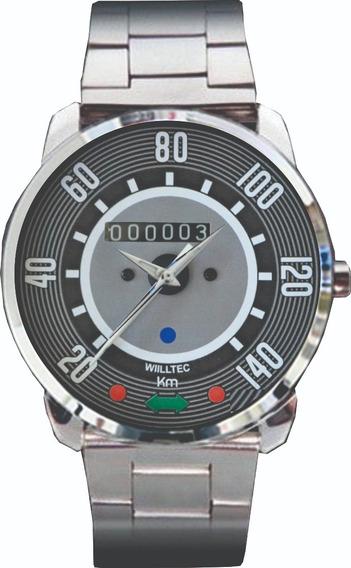 Relógio De Pulso Personalizado Painel Fusca 140km - Cod.1000