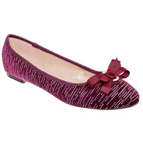 Zapato De Piso Dama Gosh 1255k-03 Vino 22-26 U80154 T2