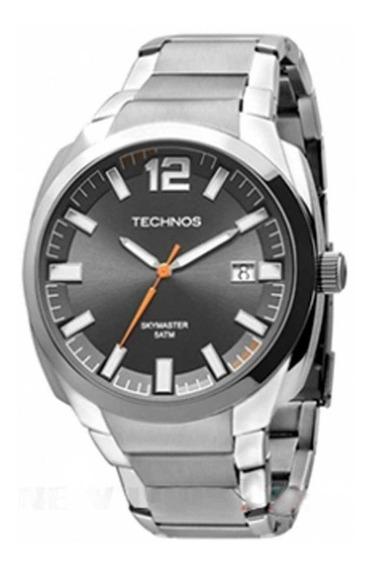 Relógio Technos Masculino Skymaster 2415bl/k1f Ótimo Estado