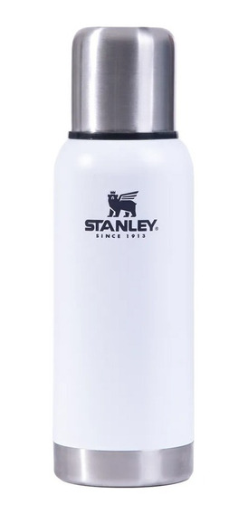 Termo Stanley Adventure 1 Litro Pico Cebador Original Blanco