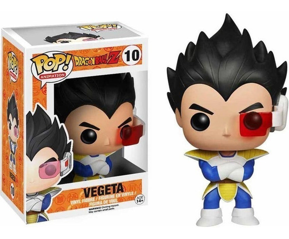 Funko Pop Figura Dr Ball Z Vegeta Int 3991 Original Wabro
