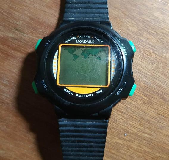 Relógio Mondaine Digital - Para Restauro Ou Peças