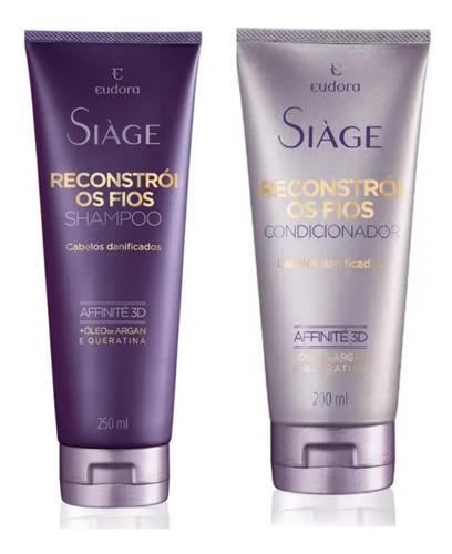 Shampoo + Condicionador Siàge Reconstrói  - Eudora