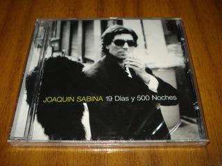Cd Joaquin Sabina / 19 Dias Y 500 Noches (nuevo Y Sellado)