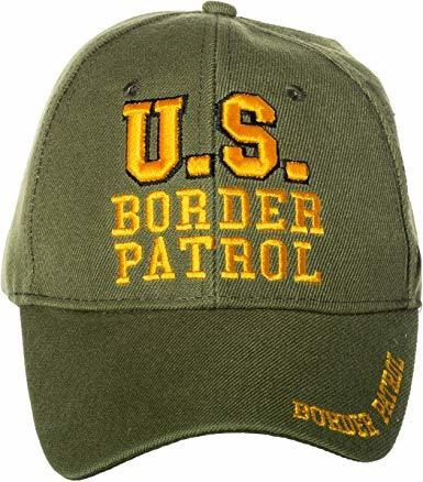 Artisan Owl Us Border Patrol Federal Law Enforcement Green E
