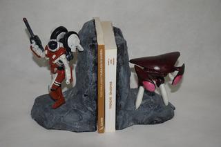 Mospeada -robotech- Libreros - Escultura, Copias A Pedido