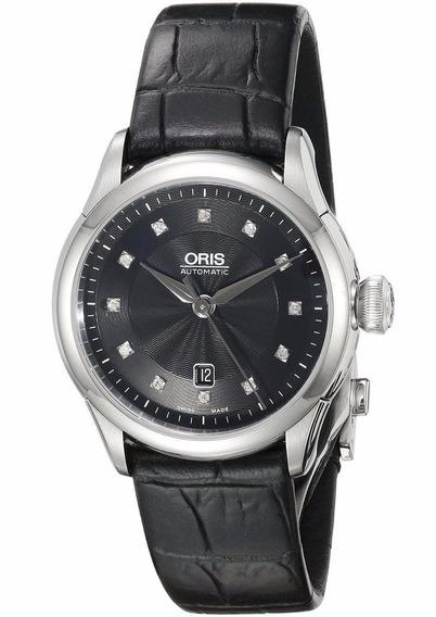 Reloj Oris Artelier Acero Piel Negro Mujer 56176044099ls