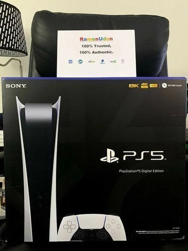 Auténtica Sony Ps5 Playstation 5 Digital Discless Edition