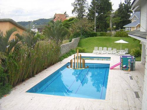 Casa De Alto Padrão Com 5 Suítes À Venda, 1140 M² Por R$  - Alphaville Zero - Santana De Parnaíba/sp - Ca1169