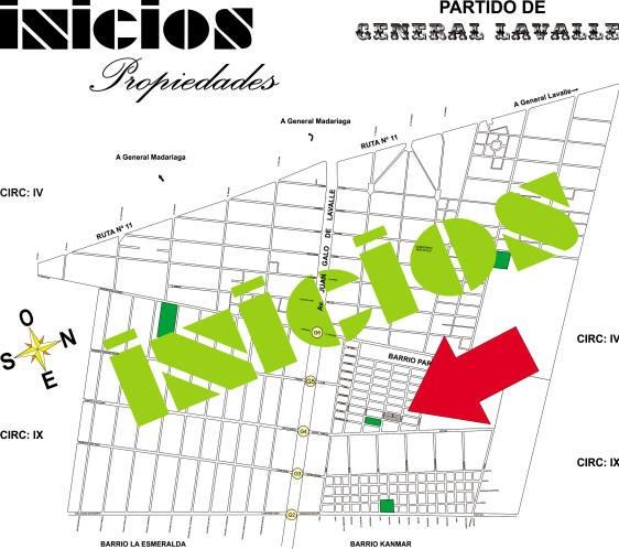 Chacra En Barrio La Esmeralda. Pavon. Garita 4 Y 5 (b359) !!