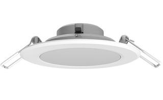 10x Spot Embutir Techo Panel Luz Led 6w 220v Circular Candil