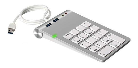 Teclado Numerico Rocketek 2 Usb 3.0 Speed Notebook Macbook