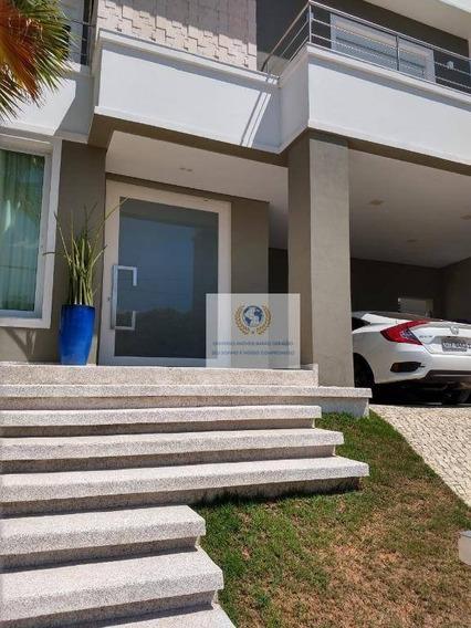 Casa Com 3 Dormitórios À Venda, 344 M² Por R$ 1.700.000 - Loteamento Parque Dos Alecrins - Campinas/sp - Ca1047