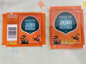 Lote De Dois Envelopes Pacotinhos Road To Russia 2018