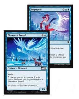 Mazo Monoblue Control + Protectores - Cartas Magic Z