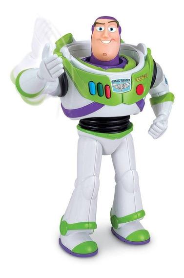 Boneco Toy Story 4 - Buzz Lightyear - 38169 - 10 Frases