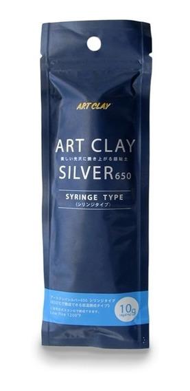 Jeringa Con Plata De Art Clay O Plata En Forma De Plastilina