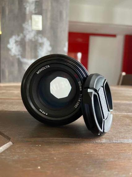 Lente Sony Minolta 50mm