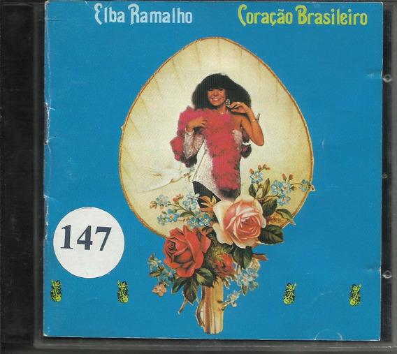 Cd Elba Ramalho Coração Brasileiro 1983 Feat. Chico Buarque