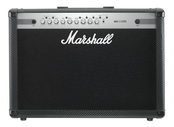 Amplificador Marshall MG Series MG102CFX 100W transistor negro