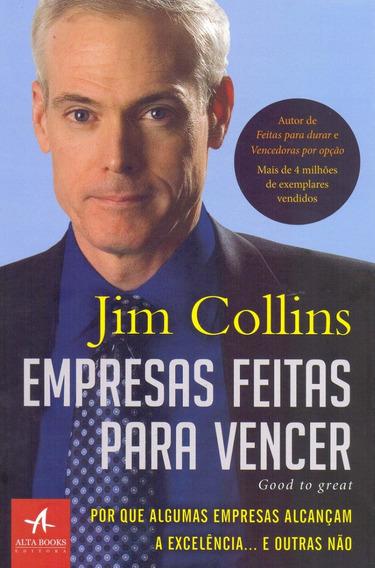 Empresas Feitas Para Vencer Livro Jim Collins Frete Grátis