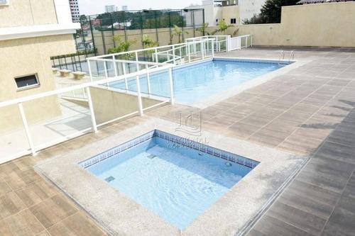 Apartamento Com 3 Dormitórios À Venda, 82 M² Por R$ 480.000 - Parque Das Nações - Santo André/sp - Ap9615