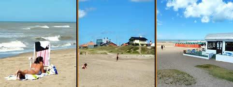 Costa Atlantica Mar Del Sud Con Escritura Frente Al Mar