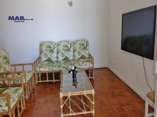 Imagem 1 de 12 de Apartamento Residencial À Venda, Centro, Guarujá - . - Ap7090
