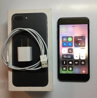 iPhone 7 Plus 128 Gb Con Caja Cable Y Cargador. Detalle Home