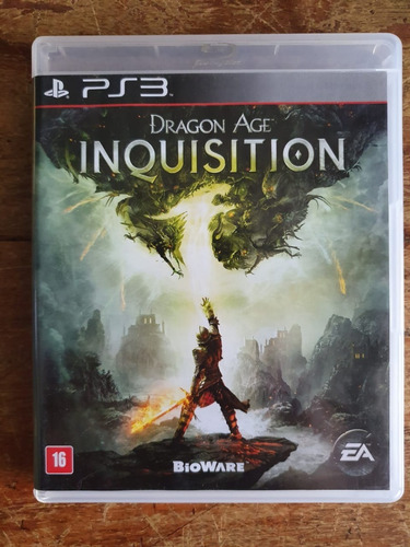 Jogo Dragon Age Inquisition - Ps3 - Usado