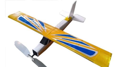 Aeromodelo Na Cor Amarelo Com Azul Coleção 2020