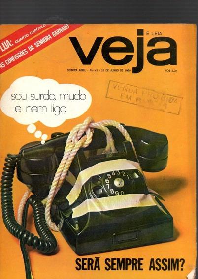Revista Veja Sera Sempre Assim Nº 42 1969