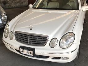 Mercedes-benz Mod 2004 Clase E5.0l 500 Guard B4 Blindado