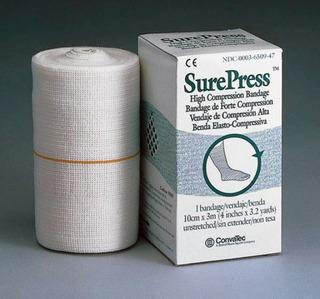 Bandagem Alta Compressão Surepress 10cm X 3m 10 Und Convatec
