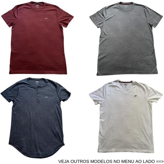 Camiseta Camisa Hollister Vários Tamanhos E Modelos