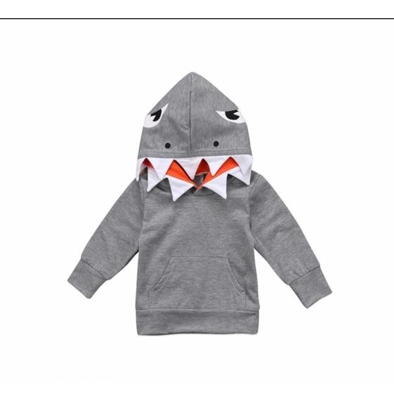 Sudadera Tiburon Baby Shark Talla ( 1 A 5 Años )