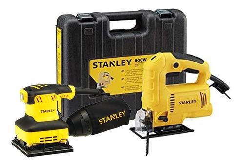Caladora Electrica  + Lijadora Stanley Sj60k-b3c