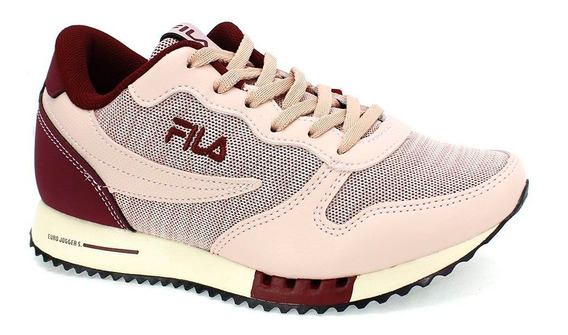 Tênis Fila Euro Jogger Feminino Rosa 825867