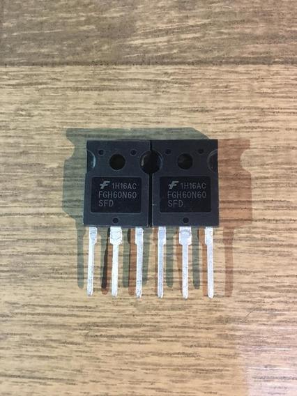 Fgh60n60 × 10 Unidades