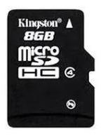 Micro Sd 8gb Kingston Classe 4 Sem Embalagem + Brinde
