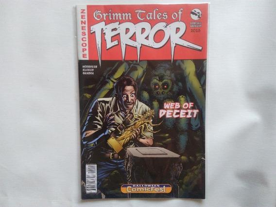 Comic Grimm Tales Of Terror - Halloween Comicfest En Inglés