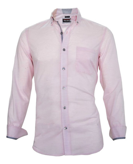Camisa Para Hombre De Vestir Fashion Slim Fit