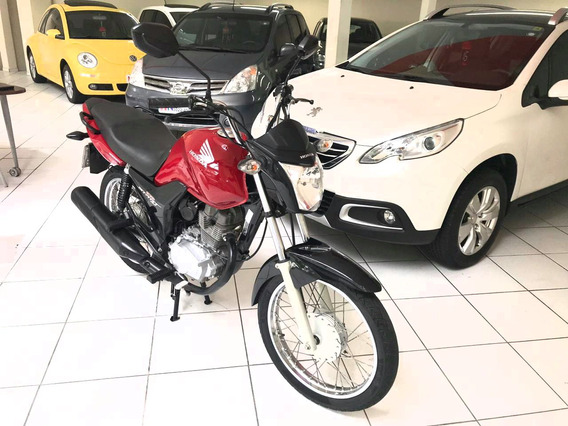 Honda Cg 150 Start 2015 Único Dono
